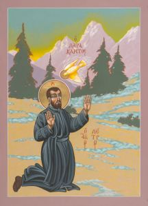 Icon of Pierre Favre by Fr. William McNichols