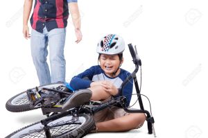 51606445-wounded-child-falling-from-his-bike-and-crying-while-holding-his-knee-with-dad-coming-to-help-isolat-stock-photo